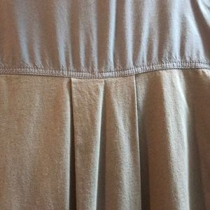 Anthropologie Skirts - Bb Blue High-lo Peasant Top